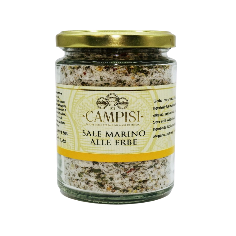 sea salt with herbs 300 g Campisi Conserve - 1