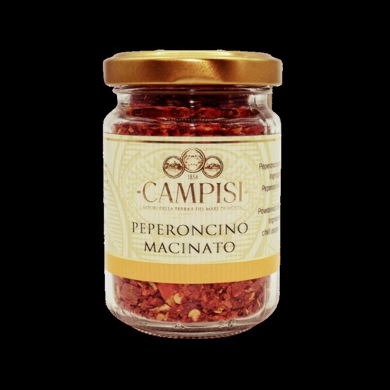 pote de chilli moído 50 g Campisi Conserve - 1