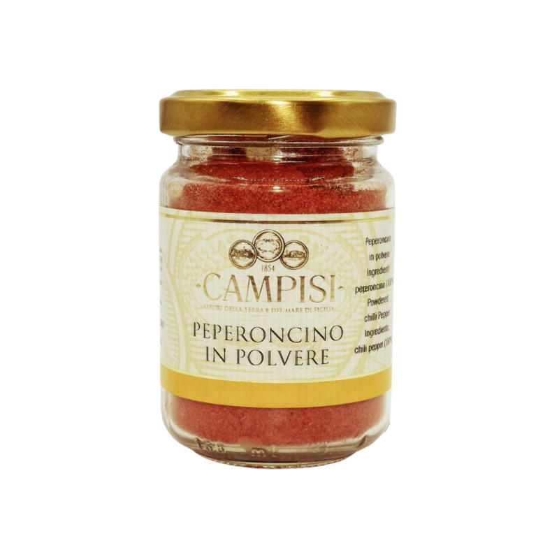 jarrón de chile en polvo 65 g Campisi Conserve - 1
