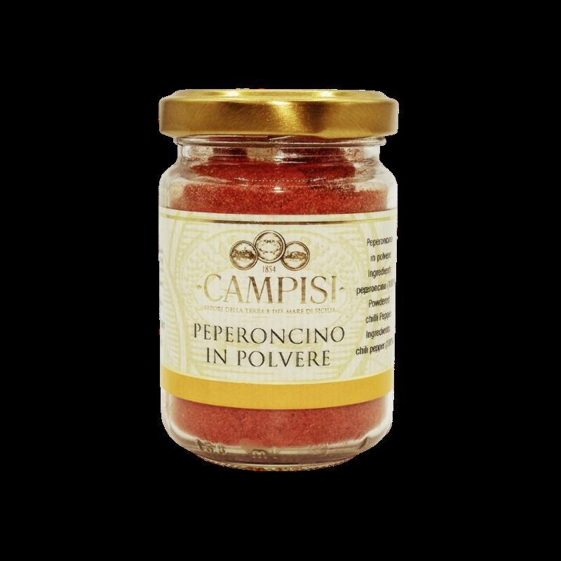 vaso de pó de pimenta 65 g Campisi Conserve - 1