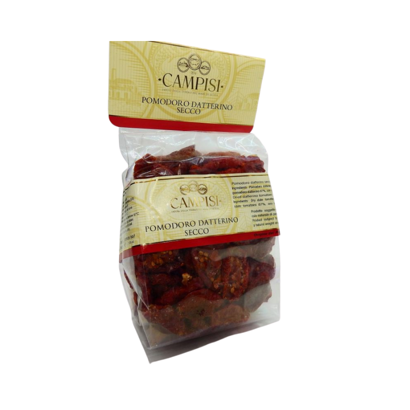 Sun-dried plum tomatoes in flowpack 200 g Campisi Conserve - 1