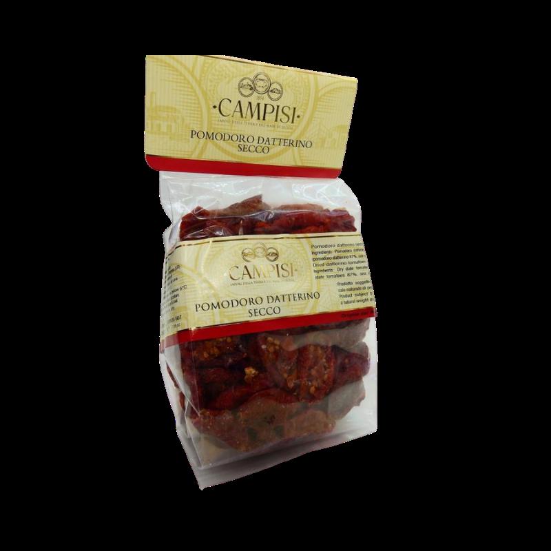 suszony pomidor daszkowy w pakiecie przepływowym 200 g Campisi Conserve - 1