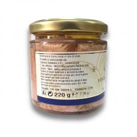 Ventre de thon rouge à l'huile d'olive 220g Campisi Conserve - 2