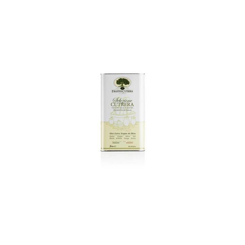 cutrera wybór - extra virgin oliwa z oliwek cyna 3 lt Frantoi Cutrera - 1