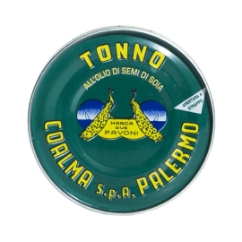 atum em óleo de girassol 80 g Due Pavoni - Coalma - 1