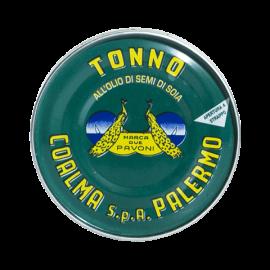 tuna in sunflower oil 80 g Due Pavoni - Coalma - 1