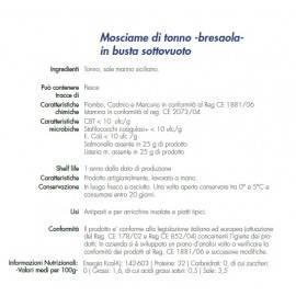 Thunfisch-Mosciame 180 g Campisi Conserve - 2