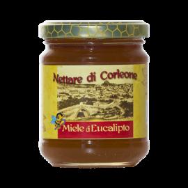 sicilian black bee  eucalyptus honey from Corleone 250 g Comajanni Giuseppe - 1