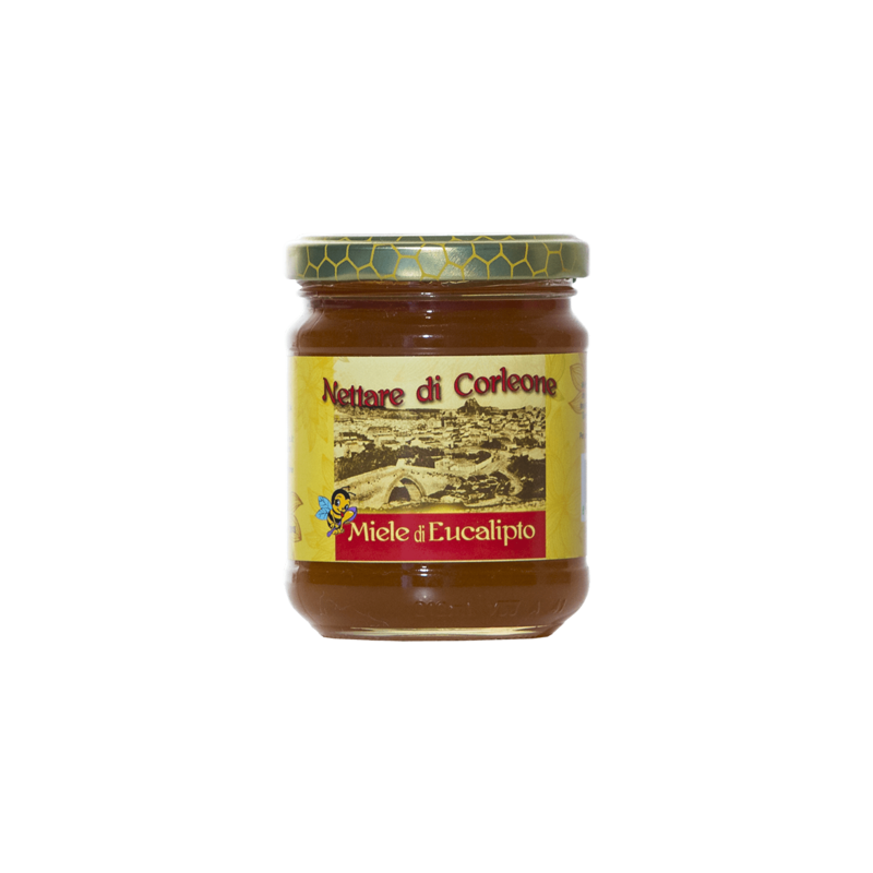 abeille noire eucalyptus miel corleone sicula 250 g Comajanni Giuseppe - 1