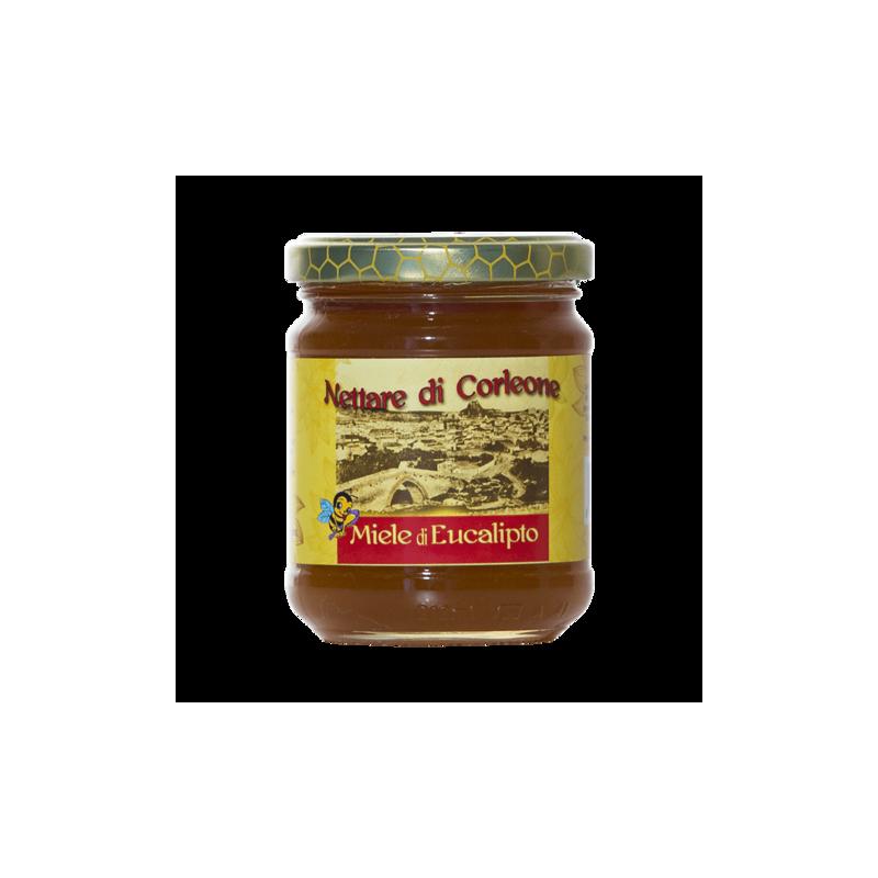 schwarze Biene Eukalyptus Honig Corleone sicula 250 g Comajanni Giuseppe - 1
