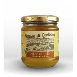 sicilian black bee  sulla honey from corleone 250 g Comajanni Giuseppe - 1