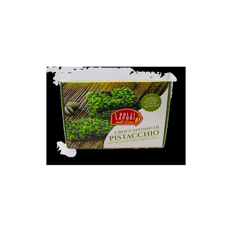 pistachio brittle 100 g I Dolci Sapori dell'Etna - 1