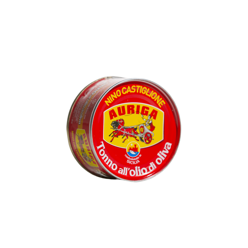tonno auriga latta 80 g Nino Castiglione - 1