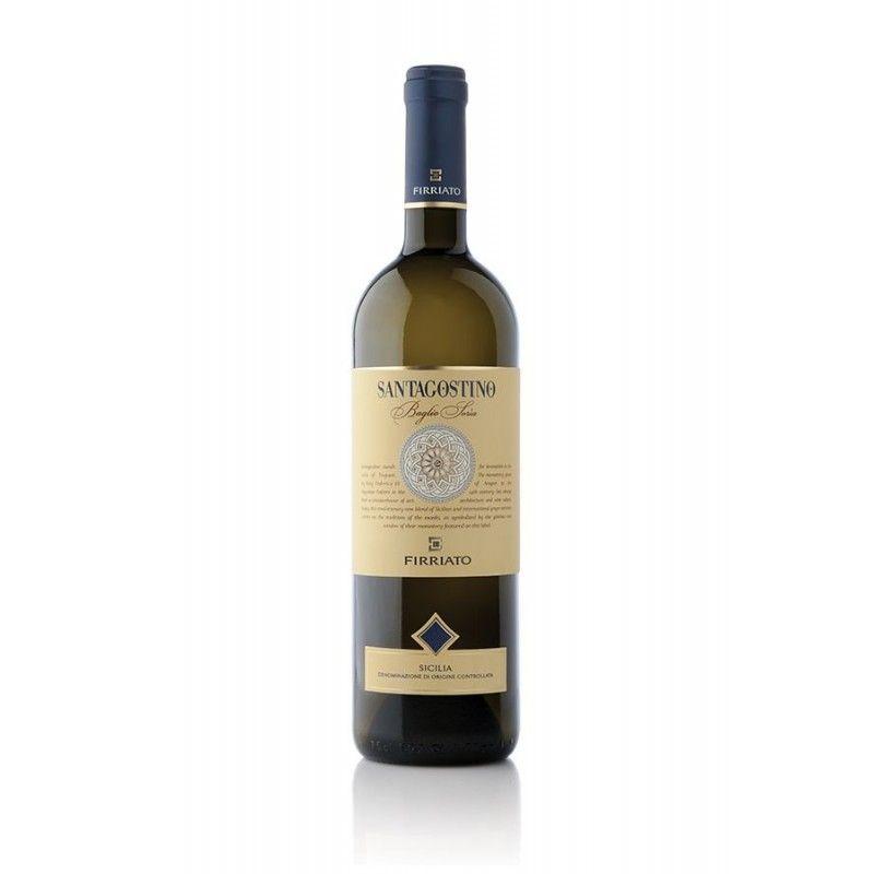 saint Augustin blanc 75 cl Firriato - 1