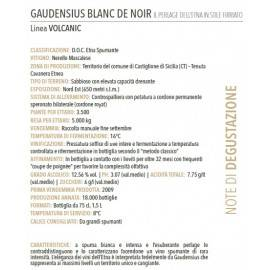 "etna klasyczna metoda brut blanc de noirs doc ""gaudensius"" Firriato - 2"