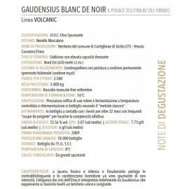etna méthode classique brut blanc de noirs doc « gaudensius » Firriato - 2