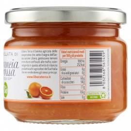 органическое красное оранжевое варенье 270 г Libera Terra - 2