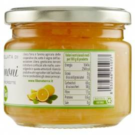 marmellata di limoni biologica 270 g Libera Terra - 2