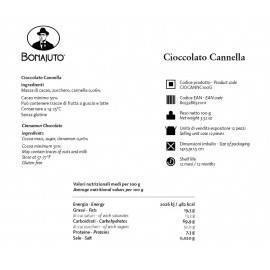 cinnamon flavoured chocolate 100 g - Bonajuto Bonajuto - 2
