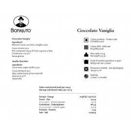 vanilla flavoured chocolate 100 g - Bonajuto Bonajuto - 2