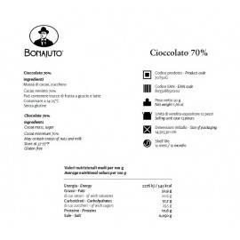 reine Schokolade 70% 50 g - Bonajuto Bonajuto - 2