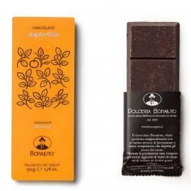 orange flavoured chocolate 50 g - Bonajuto Bonajuto - 1