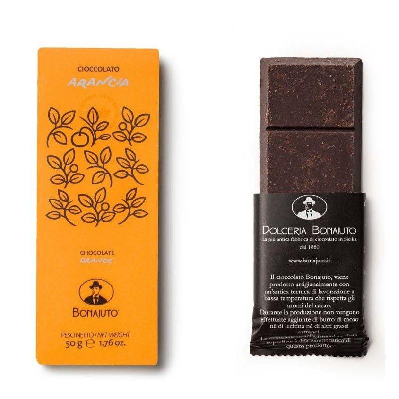chocolate laranja 50 g - Bonajuto Bonajuto - 1