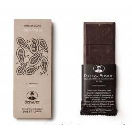 チョコレート 100% ココア 50 g - Bonajuto Bonajuto - 1