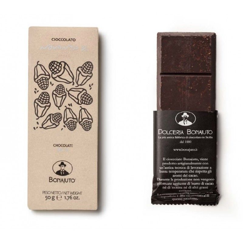 chocolate puro 90% 50 g - Bonajuto Bonajuto - 1