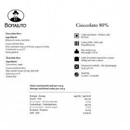 reine Schokolade 80% 50 g - Bonajuto Bonajuto - 2