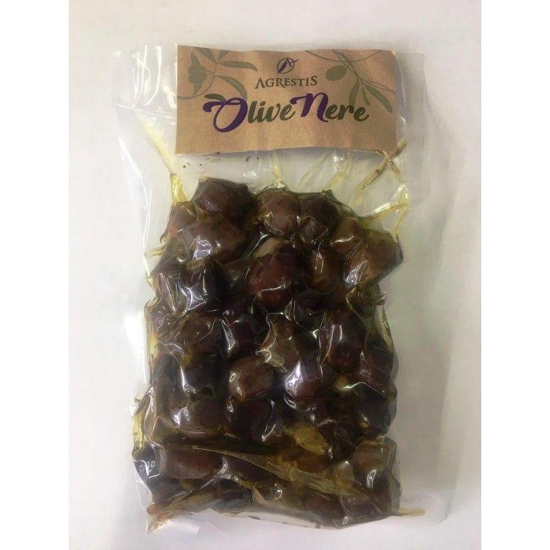 sycylijskie buccheri czarne oliwki 300 G Agrestis - 1