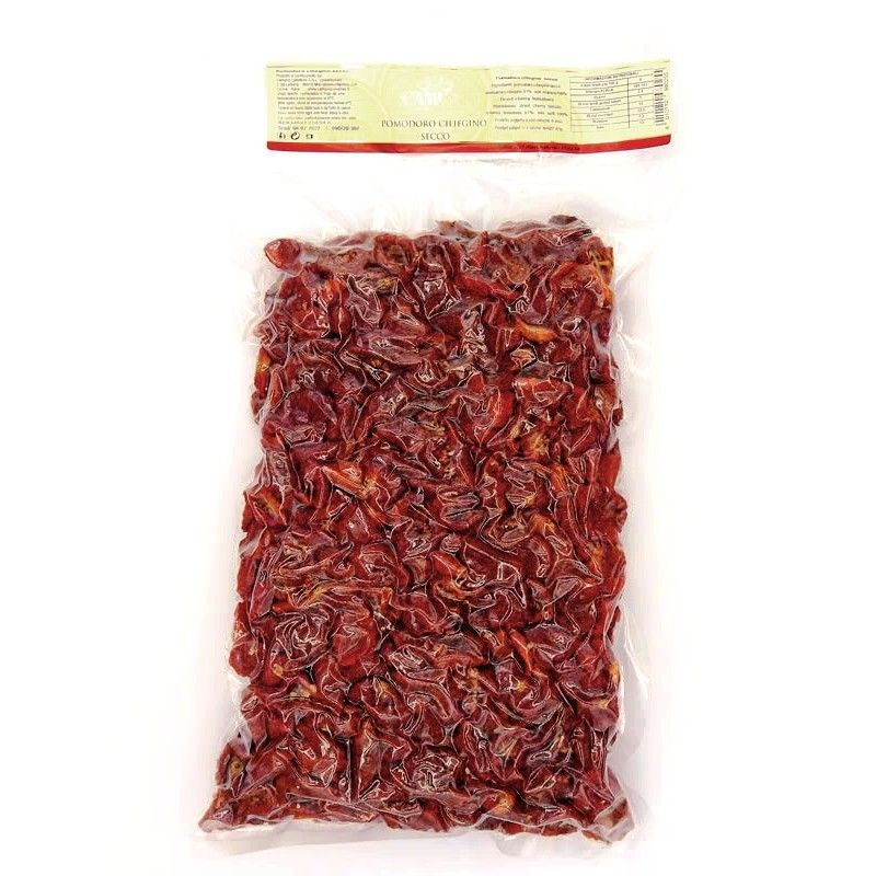 Sun-Dried Cherry Tomatoes - Vacuum Bag 1 kg Campisi Conserve - 1