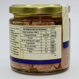 tonno del mediterraneo in olio di oliva Campisi Conserve - 2