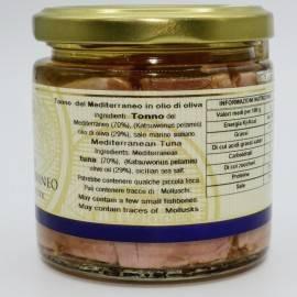 tonno del mediterraneo in olio di oliva Campisi Conserve - 4