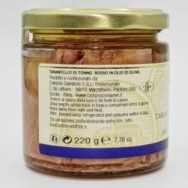 tuńczyk błękitnopłetwy tarantello 220 g Campisi Conserve - 3