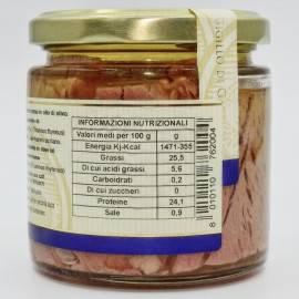 bluefin tuna tarantello(tuna steak) 220 g Campisi Conserve - 5