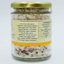 Meersalz mit Gewürzvase 300 g Campisi Conserve - 3