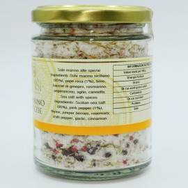 sól morska z przyprawami wazon 300 g Campisi Conserve - 3