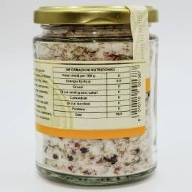 sal marina con especias jarrón 300 g Campisi Conserve - 4