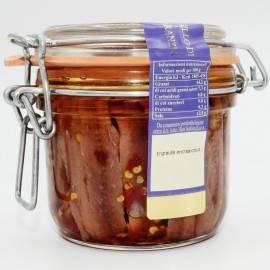 extra Sardellenfilets mit erm Vase Chili. Campisi Conserve - 3