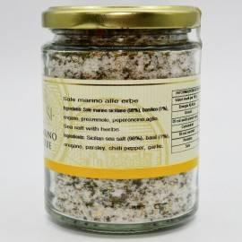 pote de sal do mar de ervas 300 g Campisi Conserve - 3