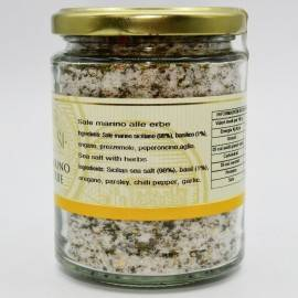 herb sea salt pot 300 g Campisi Conserve - 3