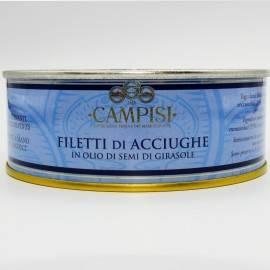 filets d'anchois en étain g 500 Campisi Conserve - 1