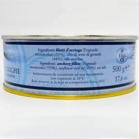 filés de anchova de lata g 500 Campisi Conserve - 3