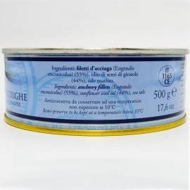 anchovy fillets in tin can 500 g Campisi Conserve - 3