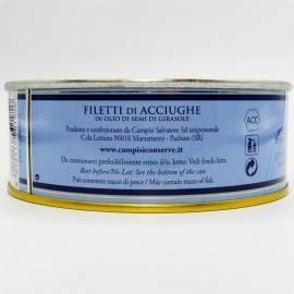 filets d'anchois en étain g 500 Campisi Conserve - 5