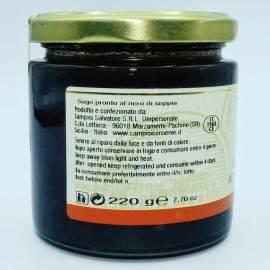 salsa negra sepia prefaseada 220 g Campisi Conserve - 2
