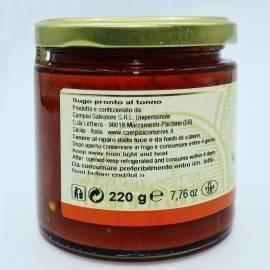 gotowy sos tuńczykowy 220 g Campisi Conserve - 2