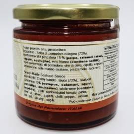 salsa lista para atrapar 220 g Campisi Conserve - 3
