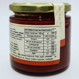 ready-made seafood sauce 220 g Campisi Conserve - 4